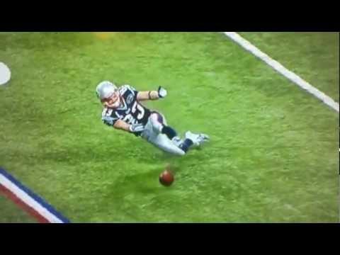 Wes Welker Drops Super Bowl Pass
