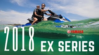 1. 2018 Yamaha EX Series WaveRunners