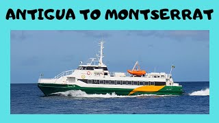 Scenic boat trip from Antigua to Montserrat (Caribbean)! Let me take you through the wonderful experience of boarding a boat at ...