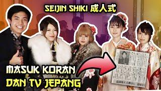 Video WOW MASUK KORAN & TV JEPANG! - UPACARA KEDEWASAAN JEPANG 新宿成人式 MP3, 3GP, MP4, WEBM, AVI, FLV April 2019