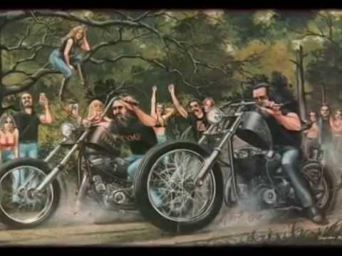 Harley Davidson Oil Paintings