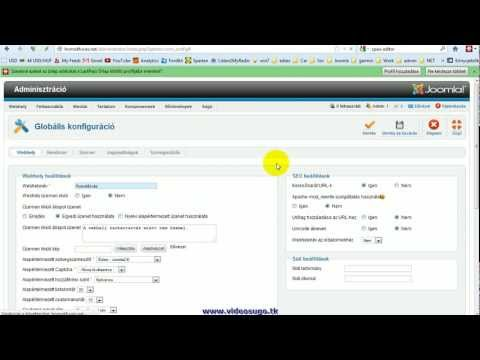 Honlap szövegszerkesztő eszköz (editor) cseréje