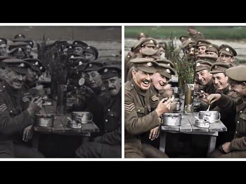 Ο Α' Παγκόσμιος Πόλεμος παίρνει…χρώμα!