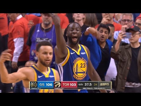 GS Warriors vs Toronto Raptors - Game 5 - Full 4th Qtr | 2019 NBA Finals