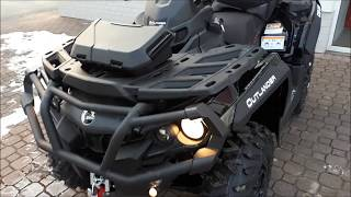 6. CAN-AM OUTLANDER MAX 1000 XT-P ABS MY 2018