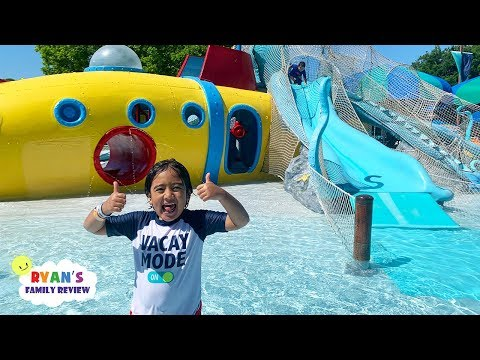 Family Fun Day At The Waterpark For Kids With Ryan's Family Review