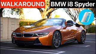 2019 BMW I8 Roadster WALKAROUND by MilesPerHr