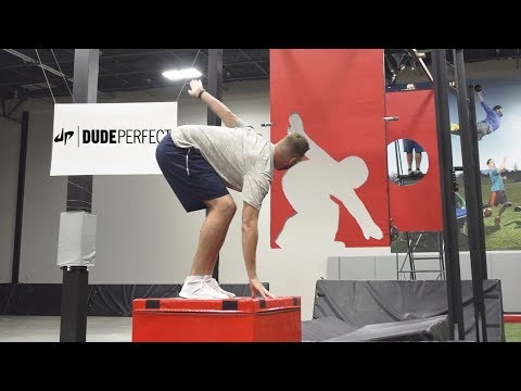 Freeze Frame Football Battle | Dude Perfect
