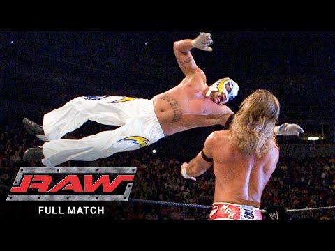 FULL MATCH - Rey Mysterio vs. Shawn Michaels: Raw, Nov. 14, 2005