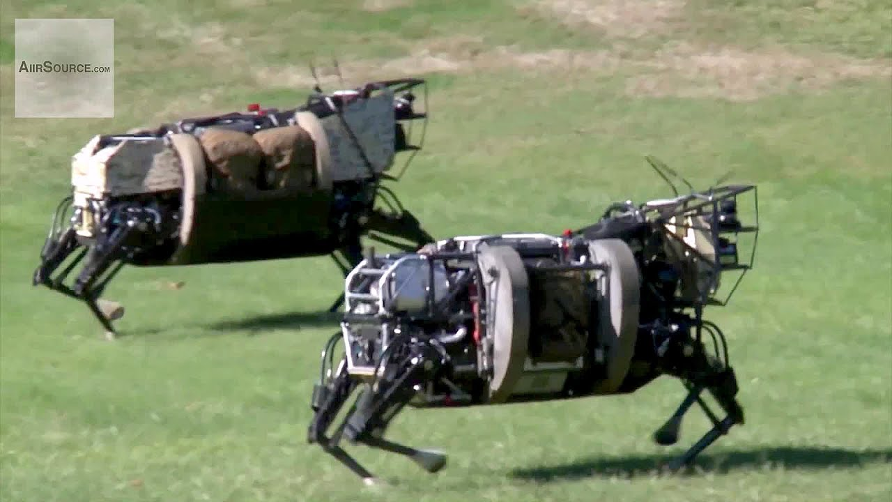 AlphaDog, U.S. Marines Robot Pack Animal – Legged Squad Support System | AiirSource