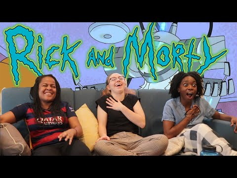 "Rick and Morty - Season 1 Episode 2 ""Lawnmower Dog"" REACTION"