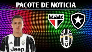 Pacote de Noticia - gimenez na Juventus, Brener no Botafogo e Eduardo Sasha