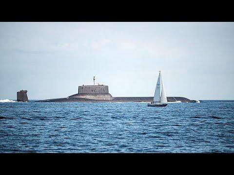 Το υποβρύχιο «Ντμίτρι Ντονσκόι» στη Βαλτική