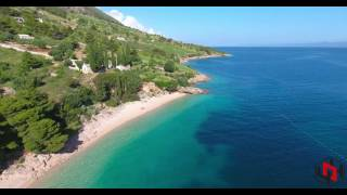 Brac Island Croatia  city photos gallery : 4K : Croatia by Drone - Brac Island