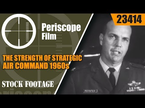 THE STRENGTH OF STRATEGIC AIR COMMAND 1960s USAF FILM  23414