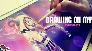 Come give it a BIG THUMBS UP and comment below, and be sure to subscribe for more ipad pro art videos! :D