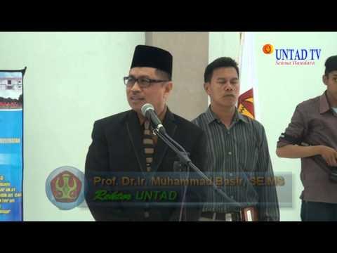 Dok Humas Untad, Pelantikan Dekan FKIK UNTAD 16 Juni 2015
