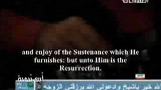Mishary-surah Mulk In Studio W/english Translation