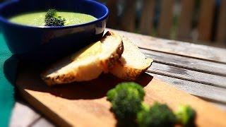 Sopa creme de brócolis