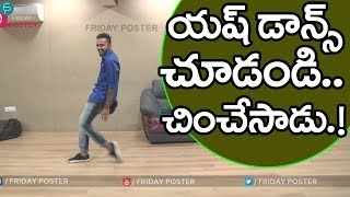Video Dhee Yash (Yashwanth) Master Dance Performance In Friday Poster Interview | Talk With Friday Poster MP3, 3GP, MP4, WEBM, AVI, FLV Oktober 2017