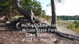 Hancock (MI) United States  City new picture : Michigan M203 bike McLain State Park to Hancock