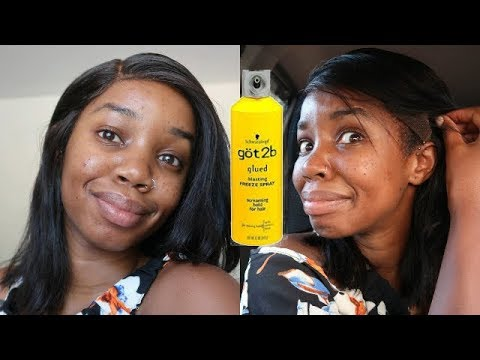 WIG GLUE IN THIS HEAT?!! Ft Divas Wigs
