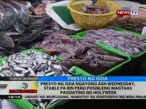 Presyo ng isda ngayong Ash Wednesday, stable pa rin pero posibleng magtaas pagdating ng holyweek