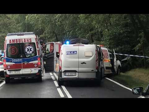 Wideo: Śmiertelny wypadek pod Siedlcami