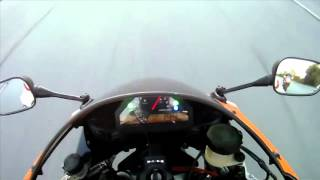 9. Suzuki GSXR 1000 vs Honda CBR 1000RR 07-08 - top speed