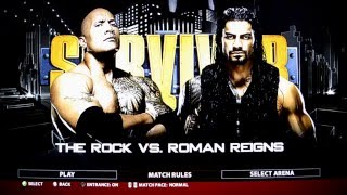 Nonton Wwe 2k16  Xbox 360 Ps3  The People S Champ The Rock Vs Samoan Powerhouse Roman Reigns Gameplay Film Subtitle Indonesia Streaming Movie Download