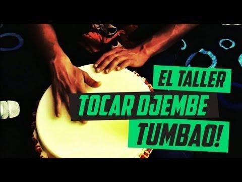 #3 ¿COMO TOCAR TUMBAO en DJEMBE? #ElTaller
