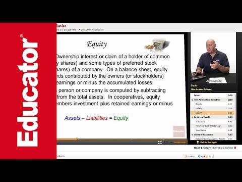 """Bookkeeping Basics"" | QuickBooks with Educator.com"