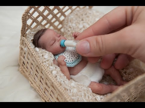 "Miniature Silicone Baby ""Tiny Timmy"""