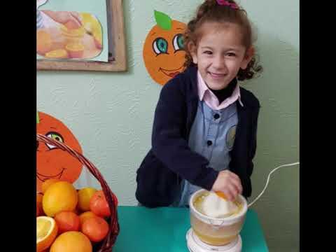 فيتامين سي ونشاط مميز مع أطفال روضة سنابل 2018 - 2