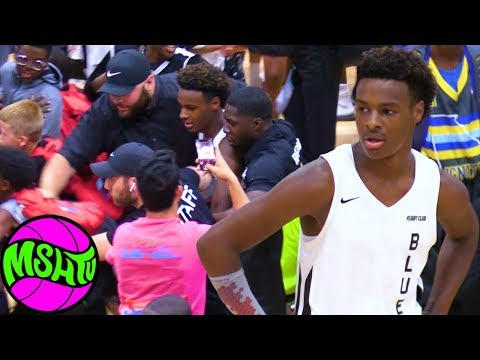 Bronny Blue Chips TESTED by Local Team at Balling on the Beach 2019