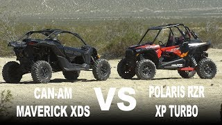 9. 2017 Polaris RZR Turbo VS Can Am Maverick XDS Turbo - Dirt Wheels Magazine