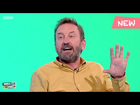 Does Lee Mack make his wife cut his fingernails while he is asleep? - Would I Lie to You?