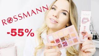 Co kupiłam na promocji -55% w Rossmannie