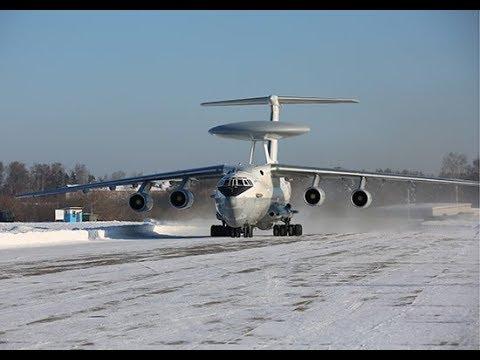 Экипажи самолетов А-50У отработали наведение перехватчиков навоздушные цели