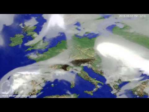 Cloud forecast Europe 2015-10-10