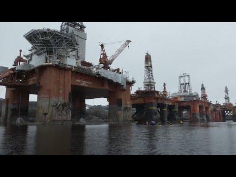 Gegen Probebohrung: Greenpeace besetzt in Norwegen Bohr ...
