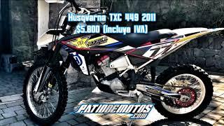 3. Husqvarna TXC 449 2011 Quito