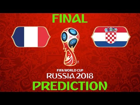 FIFA World Cup Russia 2018 Final Prediction | France V Croatia