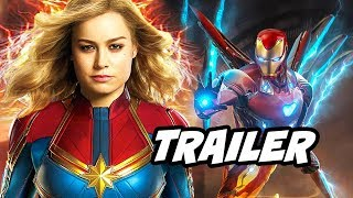 Captain Marvel Teaser - Iron Man Scene Easter Egg Breakdown