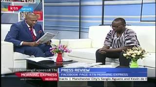 NCIC Chair Francis ole Kaparo now hunting for Raila Odinga