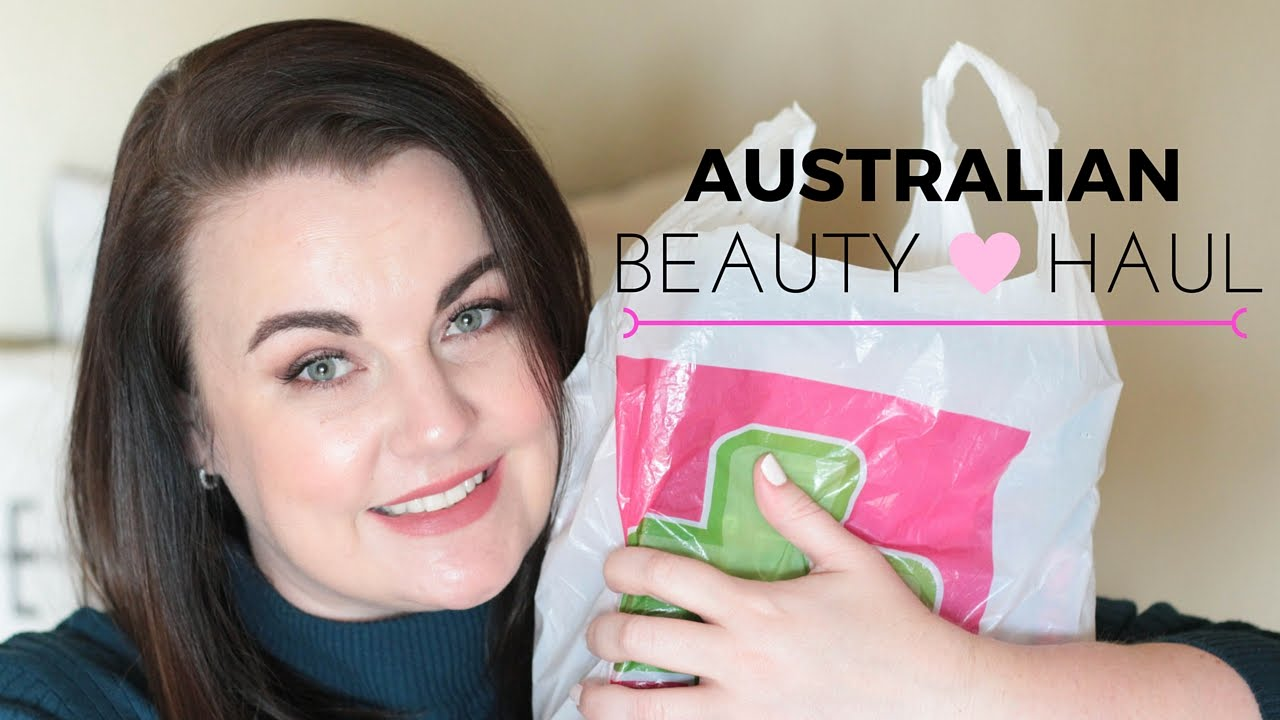 Australian Beauty Haul