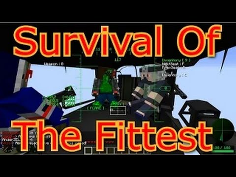 Taking - Survival of the fittest is a modded minecraft PvP/PvE experience put together by BdoubleO. The players are tossed into a post apocalyptic world and are left to loot towns, cities, and structures...
