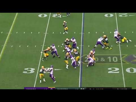 Dalvin Cook Gets Career Long Rushing Touchdown | Packers vs Vikings
