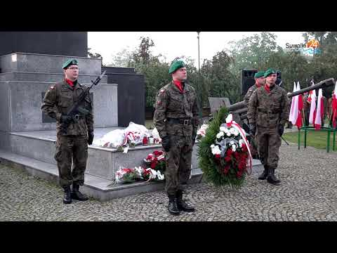 Obchody rocznicy wybuchu II Wojny Światowej w Suwałkach. W tym roku dwa razy