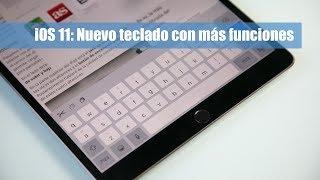En este video mostramos la nueva función del teclado de iOS 11 que permite deslizar la tecla para escribir su modo secundario. Para el video hemos utilizado el nuevo iPad Pro de 10,5''.Más información en: https://hablandodemanzanas.com/iphone-ipad/ios-11-teclado-nuevas-funciones-swipe-deslizar-tecla-secundaria Podéis seguirnos en: - Twitter: @hdmanzanas - Facebook: https://www.facebook.com/hablandodemanzanas - Google+: https://plus.google.com/+Hablandodemanzanas/posts - Podcast en iTunes: https://itunes.apple.com/es/podcast/podcast-hablando-manzanas/id990588968?mt=2